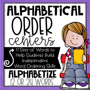ABC Order Word Work