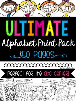 Ultimate Alphabet Pack!