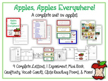 Ultimate Apple Science Unit - Reading & Writing Common Cor