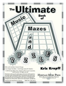 Ultimate Book of Music Mazes and Puzzles - Eras and Works
