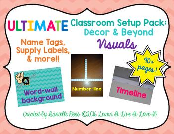 Ultimate Classroom Set Up: Decor & Beyond VISUALS