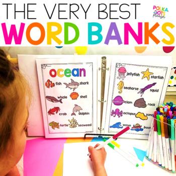 Ultimate Classroom Word Banks and Folders