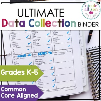Ultimate Data Collection Binder