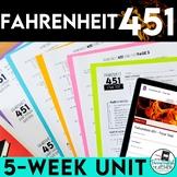 Fahrenheit 451 Novel Study and Teaching Unit