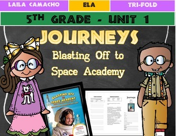 Journeys Grade 5 Trifold (Ultimate Field Trip 5: Blasting