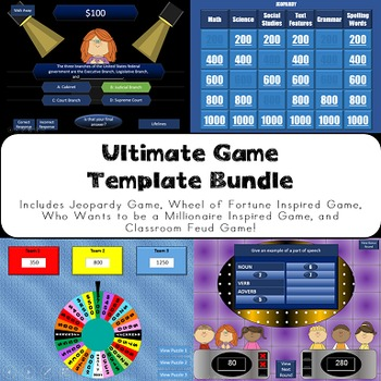 Ultimate Game Show Template Bundle