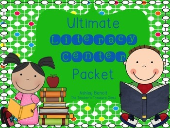 Literacy Center Packet (20 Centers)