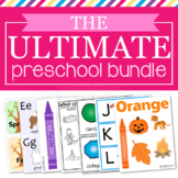 Ultimate Preschool Printable Bundle