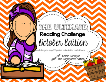 Ultimate Reading Challenge - October Edition