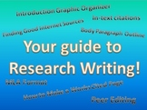 Ultimate Research Paper Bundle: In-text Citations, MLA For