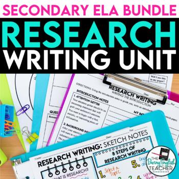 Research Paper Writing Unit