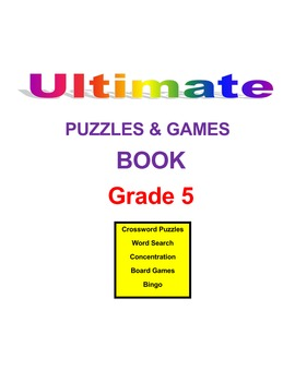 Ultimate Science Puzzles and Games Book  Grade 5