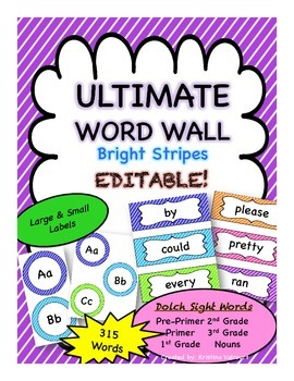 Ultimate Word Wall