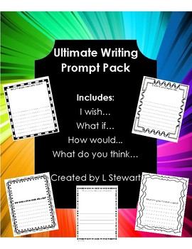 Ultimate Writing Prompt Bundle