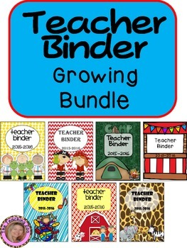 Ultimte Teacher Binder - Growing BUNDLE