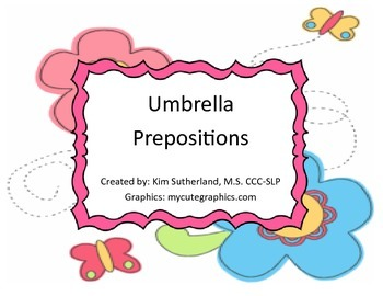 Umbrella Prepositions