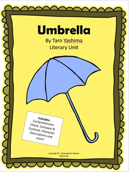Umbrella by Taro Yashima Literary Unit