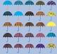 Umbrellas (Clip Art)