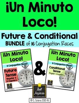 Minuto Loco: Future & Conditional Tense BUNDLE