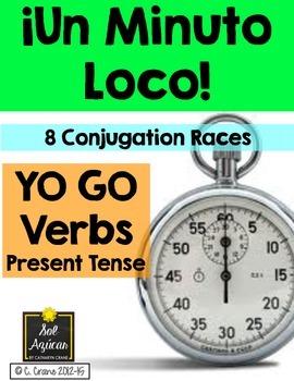 Minuto Loco - Yo Go Verbs Conjugation Practice Games - Sta