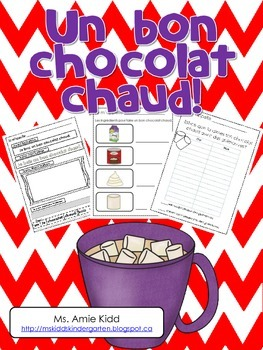 Un bon chocolat chaud - Primary French Activities