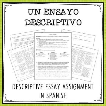 Un ensayo descriptivo / A Descriptive Essay