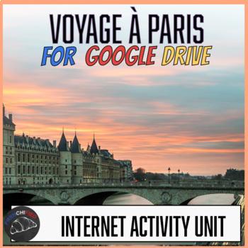 Un voyage à Paris activity - Google drive