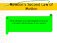 Unbalanced Forces and Acceleration (Newton's 2nd and 3rd Law)