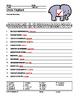 Uncle Elephant Secret Code Printable Worksheet