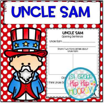 Uncle Sam...Informational Text and Activities