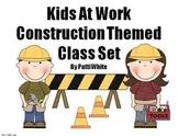 Under Construction Theme Class Set:  Kids at Work