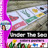 Under The Sea Classroom Theme - Colors Posters