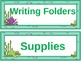 Under The Sea Ocean Themed Table headers/ Hall Passes/ Roo