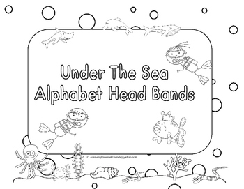 Under the Sea Alphabet Head Bands