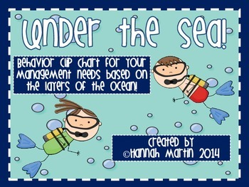 Under the Sea Behavior Chart