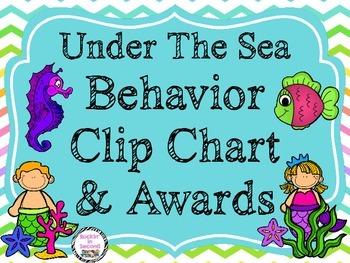 Under the Sea Behavior Clip Chart & Awards