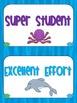 Behavioral Chart- Under the Sea Theme