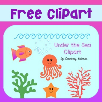Free Under the Sea Clipart for Commercial Use