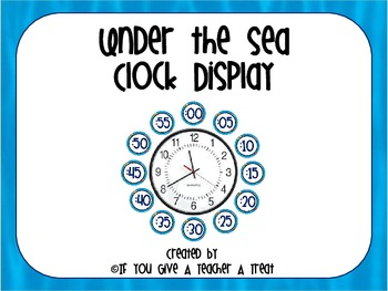 Under the Sea Clock Display