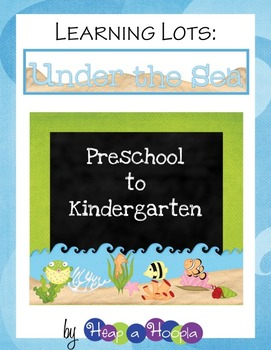 Under the Sea Games and Activities for Preschool & Kindergarten