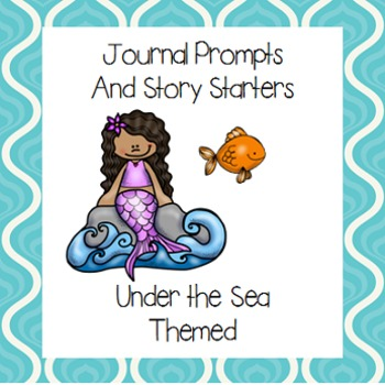 Under the Sea Journal Prompts and Story Starters