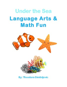 Under the Sea Language Arts and Math Fun Package (Includes