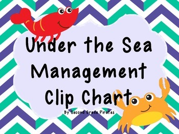 Under the Sea Management Clip Chart