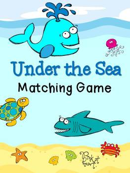 Under the Sea - Matching Game