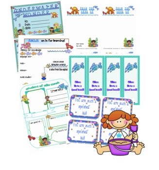 Under the Sea Ocean Classroom Theme