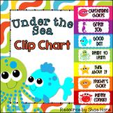 Under the Sea Ocean Clip Chart Labels {beach} Positive Beh