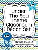 Under the Sea Ocean Theme Classroom Decor Set