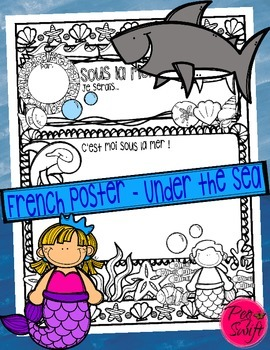 Under the Sea Poster ~ French ~ Sous la mer