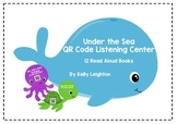 Under the Sea QR Code Listening Center - 12 Read Aloud Books