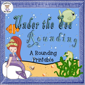 Math-Rounding - Under the Sea